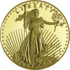 50 Dollar Gold Eagle 2011 - W PP