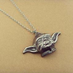 Fashion Marvel Jewelry Star Wars Master Yoda necklace Movie Jewelry New 2015