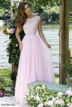 Light Pink Prom Dress 2015 Sherri Hill 2016