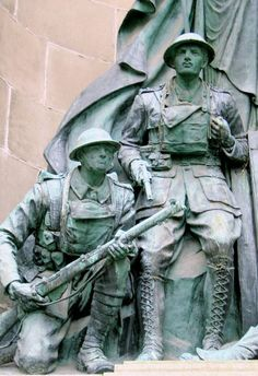 News Room War Memorial by Joseph Phillips