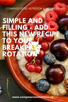 Are you tired of never having anything ready to go for a quick breakfast option? Try this Steel Cut Oats Recipe Health Breakfast, Healthy Breakfast Recipes, Oats Recipes, New Recipes, Steel Cut Oats, Compass Rose, Sugar Free Recipes, How To Eat Less, Recipe Of The Day