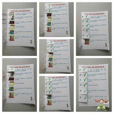 """Súper PT: Autoinstrucciones """"Deberes"""" y """"Preparar mochila"""" para alumnos con TEA."""