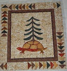 Iroquois Turtle quilt