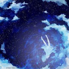 images for illustration anime art Anime Artwork, Cool Artwork, Beautiful Artwork, Anime Art Girl, Manga Art, Fantasy Landscape, Fantasy Art, Style Anime, Anime Galaxy