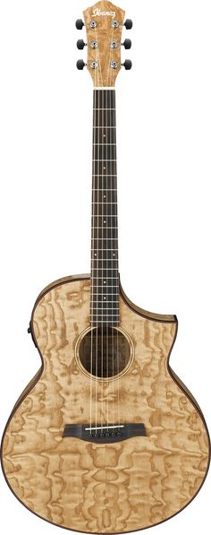 Ibanez AEW40ASNT AEW Series Acoustic-Electric Guitar