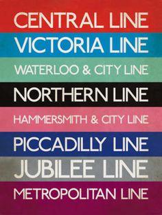 London Transport Tube Lines #britannia £22.95