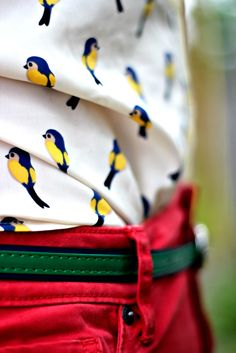 Bird Blouse | The Magpie Collective
