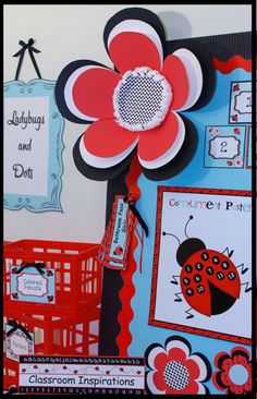 Ladybug and Dots collection! www.ClassroomInspirations.com