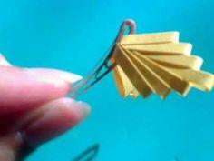 Butterfly # 2 فن لف الورق