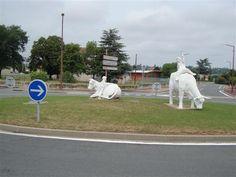 Riorges - Rond Point - (roundabout) - Loire dept. - Rhône-Alpes région, France    ...martinev.canalblog.com
