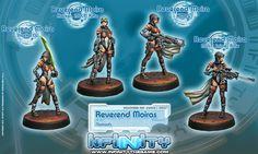 Infinity: the Game  Rev. Moiras Boxset, Nomads