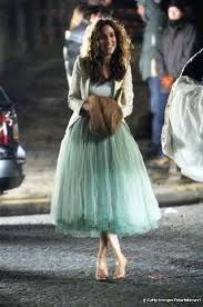 carrie bradshaw tulle dress - Google Search