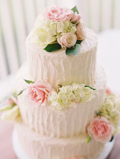 elegant + pretty #wedding cake
