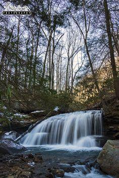 Lower Jonathan Run Falls, Ohiopyle State Park, Fayette County, PA
