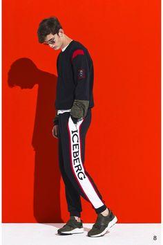 Iceberg  #VogueRussia #menswear #springsummer2018 #Iceberg #VogueCollections