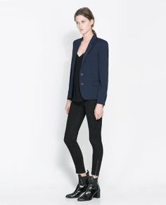 Image 1 of BLAZER WITH BUTTONS from Zara