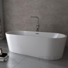 Maax 105756-000 Miles 6636 Freestanding Soaker Tub | Soaker tub ...