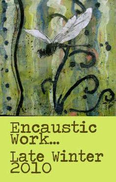 Encaustic Art Mid-Coast Maine KDB-Karen Dominguez: Encaustic Painting in Maine...