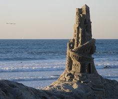 Cool Sand Castle by spacetrucker, via Flickr