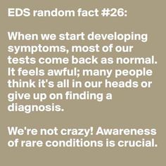 Testing, testing, 1 2 3... | 31 Random Facts About Ehlers-Danlos Syndrome