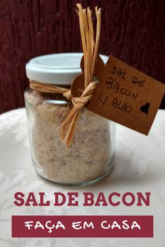 Faça em casa: Sal de bacon e deixe seus pratos mais saborosos