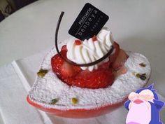 友人へ誕生日おめでとうー!のケーキ!