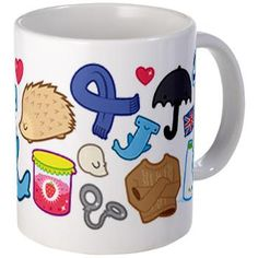 The Sherlock fandom summed up on an adorable mug.  Which would be a great Christmas giiiift! :) HINT HINT, people. ;D