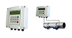 Wall Mounted Ultra Sonic Flow Meter