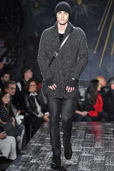 Male Fashion Trends: John Varvatos Fall-Winter 2017 - New York Fashion Week Men's