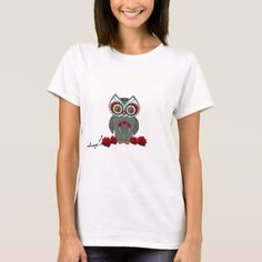 Sugar Owl T-Shirt - rose style gifts diy customize special roses flowers