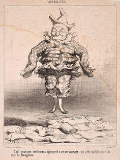 HONORÉ DAUMIER (1808-1879)  A GROUP OF 13 CARICATURES