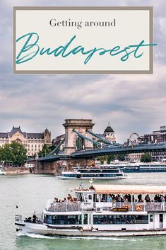 Everything you need to know about getting around in Budapest: taxis, public transportation, unique transportation methods, and public ferry. Budapest City, Visit Budapest, Budapest Hungary, Romantic Destinations, Amazing Destinations, Travel Destinations, Budapest Travel Guide, Danube River Cruise, Walkable City