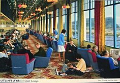 Butlin's Ayr - A Quiet Lounge.