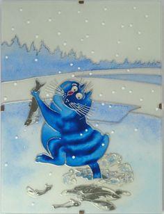 Синие коты - Витраж - Любовь