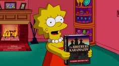 The Lisa Simpson Book Club:  Titles of books that Lisa has been seen reading on The Simpsons show.