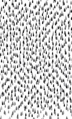 Greyscale drops. (by Anna Niestroj) #pattern #drops #greyscale