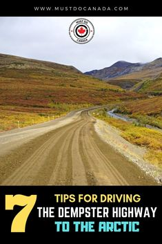 One of Canada's best road trips, the Dempster Highway is not for the faint-hearted. If you're looking for a Canadian Alaska road trip, this is it. Ways To Travel, Places To Travel, Travel Ideas, Travel Destinations, Travel Tips, Alaska Travel, Travel Usa, Cross Canada Road Trip, My Road Trip