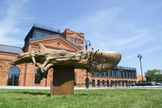 sculpture by Dudek Zbigniew 2012 / Lodz / Poland  http://www.dudek-art.eu/