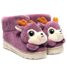 SHARE & Get it FREE   Cartoon Deer Fuzzy House SlippersFor Fashion Lovers only:80,000+ Items • New Arrivals Daily • Affordable Casual to Chic for Every Occasion Join Sammydress: Get YOUR $50 NOW!