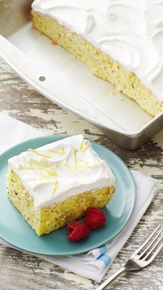 Betty's SuperMoist lemon cake mix lemon, combined with a generous amount of poppy seed, is moistened with a bright, lemon-flavored syrup for this new twist on a classic muffin. Serve at brunch or for dessert--either way, it'll be gone in a flash!