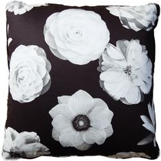 "Stuart Lawrence Foto Black Throw Pillow - 22"" ($130) ❤ liked on Polyvore featuring home, home decor, throw pillows, pillows, decor, extra, filler, black and white throw pillows, black and white toss pillows and black accent pillows"