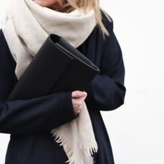 Super soft beige scarf