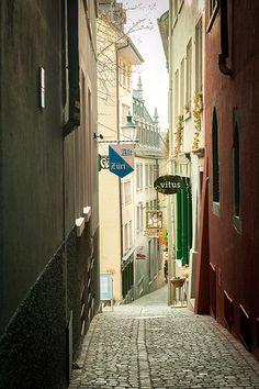 Streets in Zurich, Switzerland