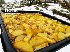 Fırında Tereyağli Patates Turkish Recipes, Ethnic Recipes, Turkish Kitchen, Turkish Delight, Sweet Potato, Macaroni And Cheese, Side Dishes, Food And Drink, Appetizers