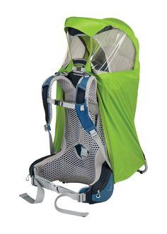 af6ceb9658d The Osprey Poco AG raincover protects your child carrier from the elements.  It  made of high-visibility