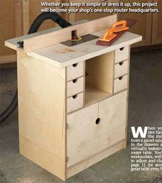 39 Free Diy Router Table Plans Ideas That You Can Easily Build