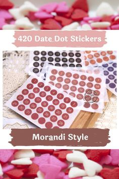 This listing is for 12 sheets of color mini date dot number planner stickers. Bring color to your monthly views or turn any notebook or journal into a calendar with these functional colored date dot numbers. These numbers printed on Japanese washi paper and are perfect to use with your planners and work great in bullet journals! Each sheet contains 1 month worth of stickers. Perfect Money, 1 Month, Bullet Journals, Washi, Planner Stickers, Planners, Numbers, Calendar, Notebook