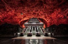 Cheaptrip - Carpe Diem - Carpe Viam - Creative Cities. Стокгольмская подземная галерея & чиптикеты 155 евро