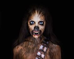 Image result for chewbacca makeup Star Wars Halloween, Halloween Make Up, Halloween 2020, Star Wars Love, Makeup Challenges, Special Effects Makeup, Halloween Makeup Looks, Sfx Makeup, Photo Makeup
