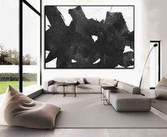 grande pittura astratta su tela grande parete di ArtCanvasShop